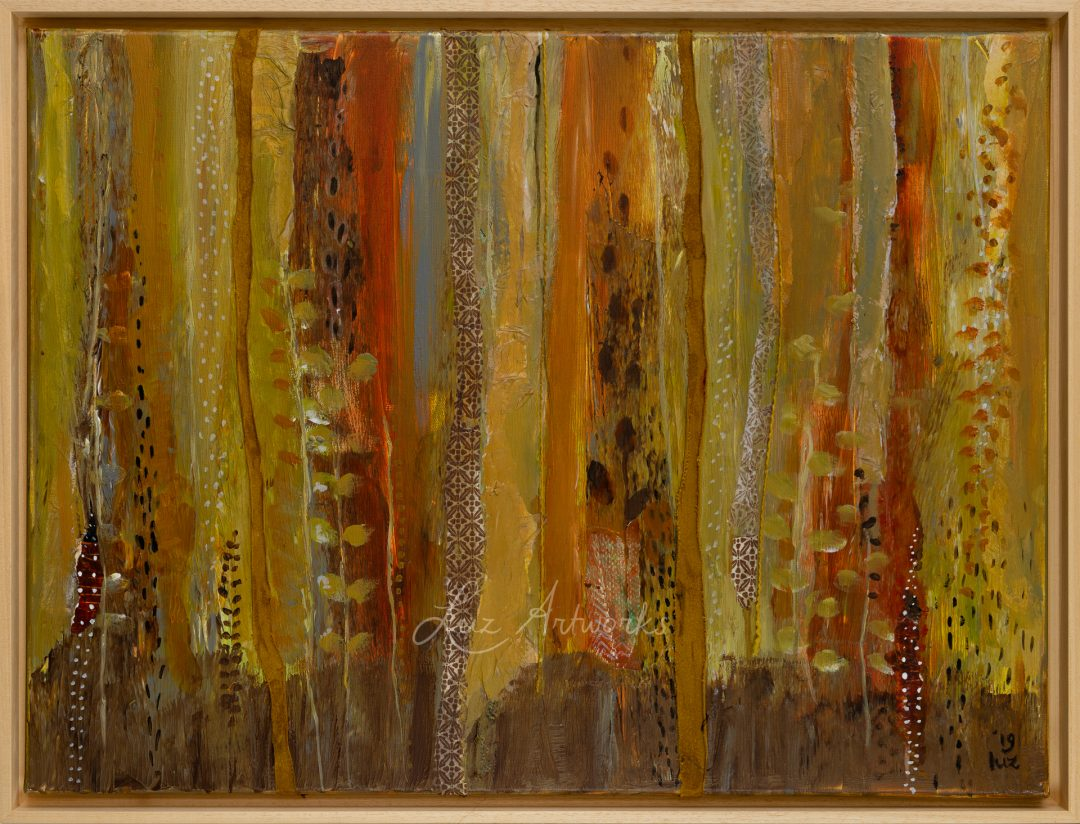 This image shows the painting Autumn by Luz / Marloes Bloedjes