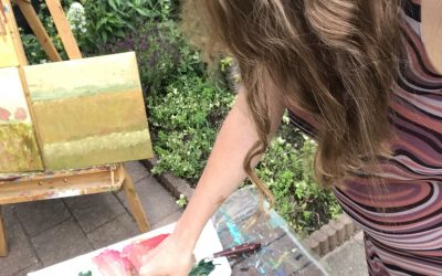 What it is like to have no 'real' art studio
