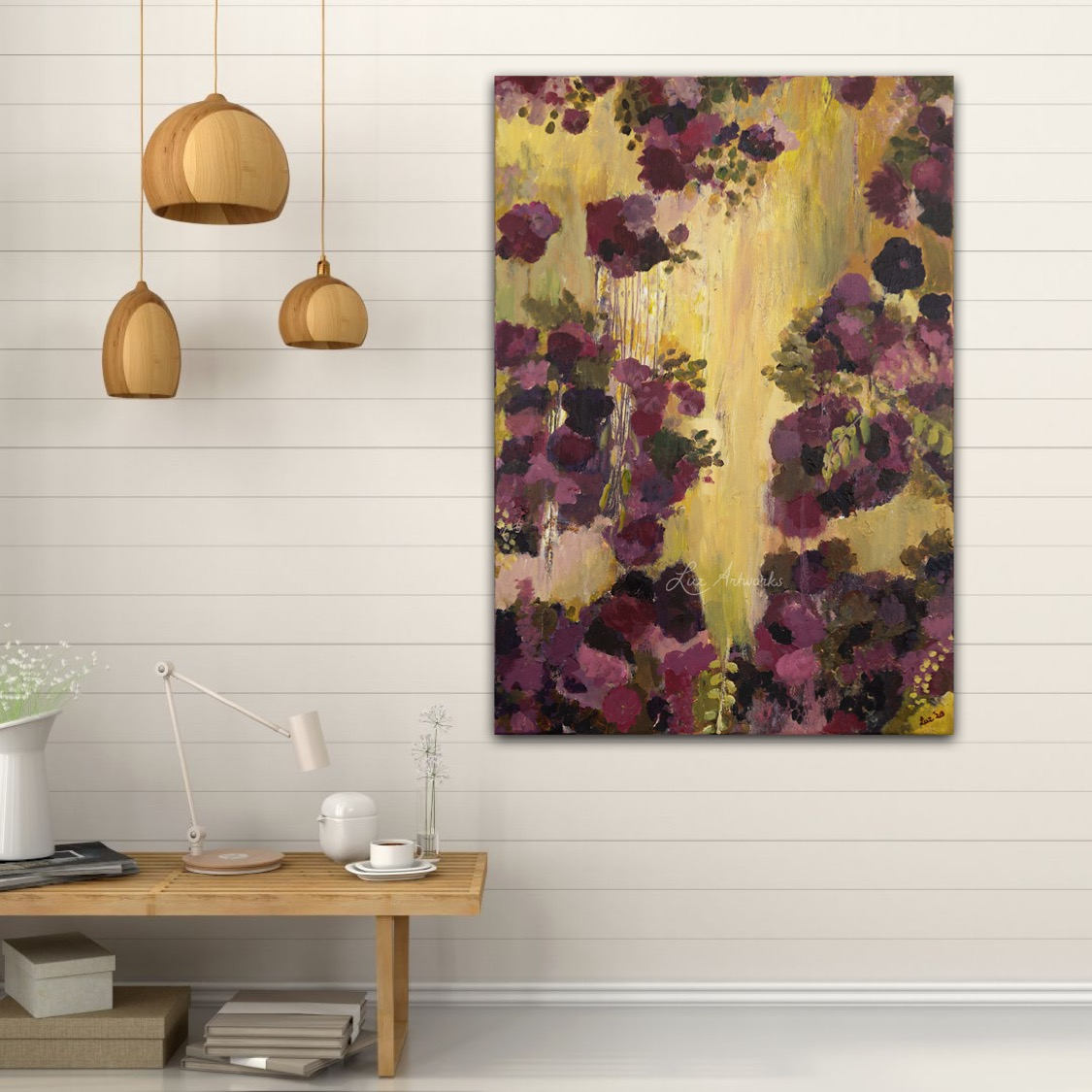 Dream Flowers by Marloes Bloedjes - on the wall