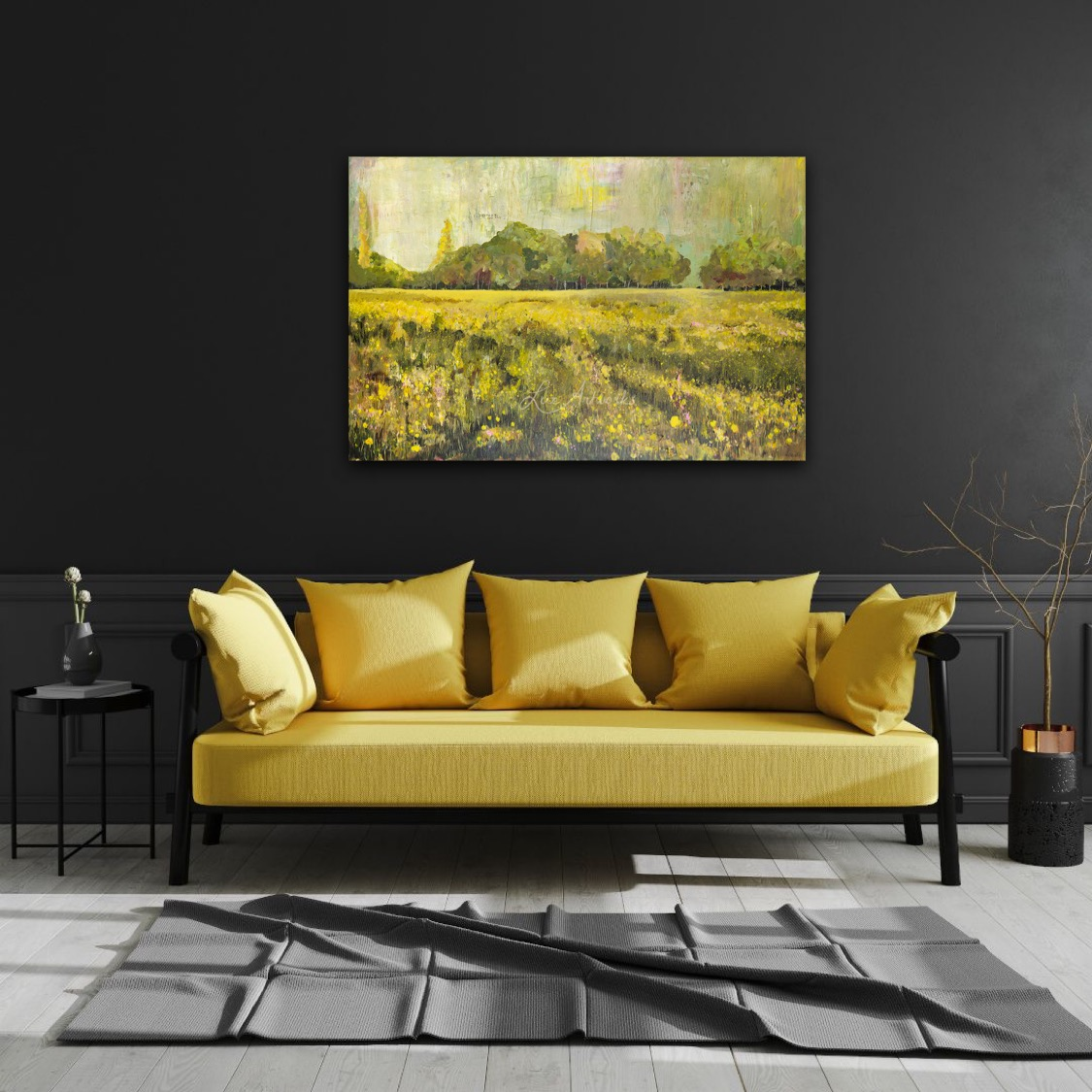 Dune Landscape by Marloes Bloedjes - on the wall