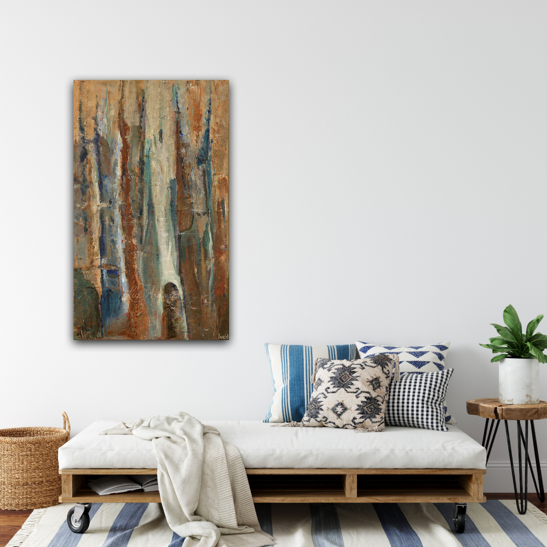 Painting Openings on the Wall by Luz Artworks - Marloes Bloedjes