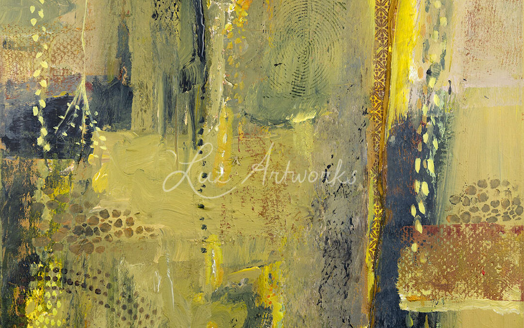 Abstract Painting - Sparkle No. 1 - Luz Artworks