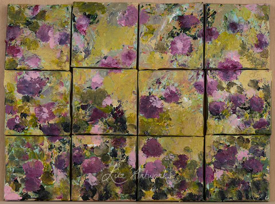 puzzle painings by Luz / Marloes Bloedjes