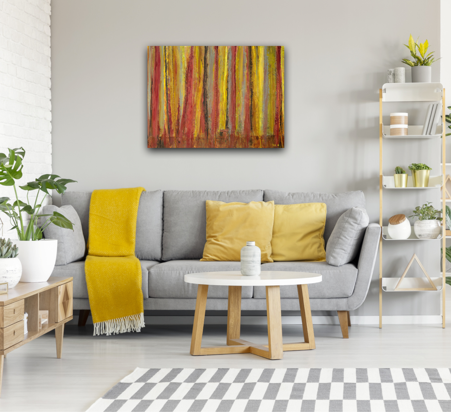 Painting Summer - Wall - Marloes Bloedjes - Luz Artworks